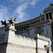 Government Building Rome Art Print