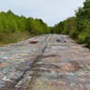 Graffiti Highway, Facing North Art Print