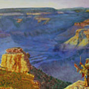 Grand Canyon V Art Print
