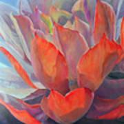 Grand Succulent Art Print
