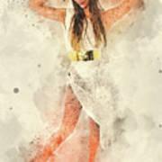 Greek Goddess  Art Print