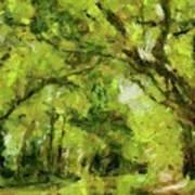 Green River Art Print