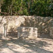 Groupo Mecanxoc At The Coba Ruins  Art Print