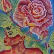 Growth Within Art Print by Shahid Muqaddim