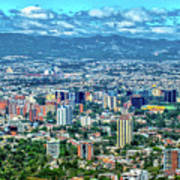 Guatemala City - Guatemala I Art Print