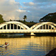 Haleiwa Bridge Art Print by Paul Topp