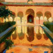 Hall Of The Ambassadors -  Alhambra Granada Art Print