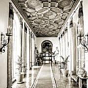 Hallway Of Elegance Art Print