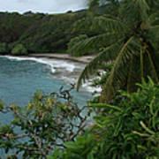 Hamoa Beach Maui Hawaii Art Print