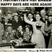 Happy Days Are Here Again Art Print
