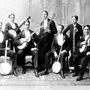 Harvard Banjo Club 1893 Art Print
