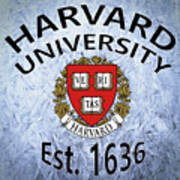 Harvard University Est. 1636 Art Print