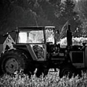 Harvesting The Fields Art Print