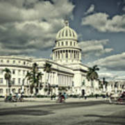 Havana National Capitol Art Print
