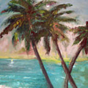 Hawaiian Palms Art Print