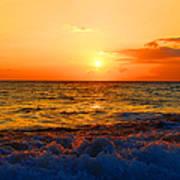 Hawaiian Sunset Art Print