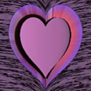 Heart Shape Art Print