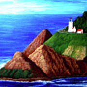 Heceta Head Lighthouse Art Print