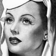 Hedy Lamarr Art Print