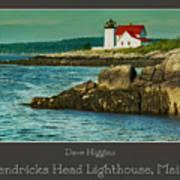 Hendricks Head Lighthouse, Maine Art Print