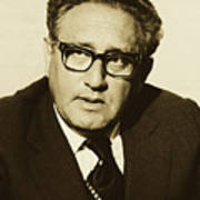 Henry Kissinger 1976 Art Print