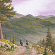 High Country Trails Art Print