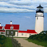 Highland  Lighthouse Art Print