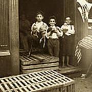 Hine: Child Labor, 1908 Art Print