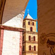 Historic Stone Bell Tower Art Print