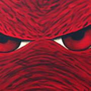 Hog Eyes 2 Art Print