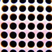 Holes Art Print