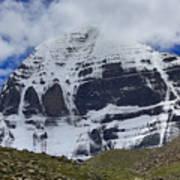Holy Kailas North Slop Himalayas Tibet Yantra.lv Art Print