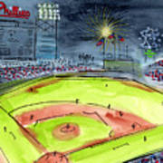 Home Of The Philadelphia Phillies Art Print by Jeanne Rehrig