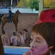 Horse Show No. 1 Art Print