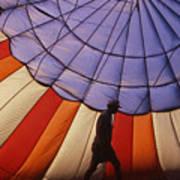 Hot Air Balloon - 11 Art Print by Randy Muir