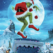 How The Grinch Stole Christmas 2000  Art Print