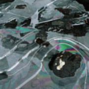 1. Ice Prismatics, Loch Tulla Art Print