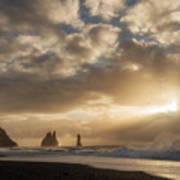 Icelandic Seascape Art Print