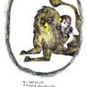 If I Had A Lion Art Print