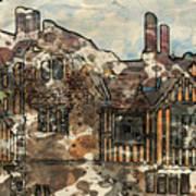 Ightham Mote Art Print