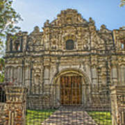 Iglesia San Jose El Viejo - Antigua Guatemala Hdr Art Print