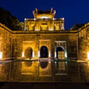 Imperial Citadel Of Hanoi Art Print
