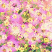 Impressionist Floral Xvi Art Print