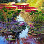 Impressions of Summer Colors Art Print