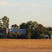 Indiana Farmland  Art Print