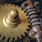 Industrial Gear Art Print