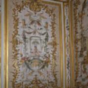 Inside Chantilly Castle France Art Print