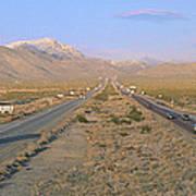Interstate 15, Near Las Vegas, After Art Print