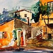 Ipiros Old Houses Art Print
