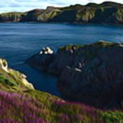 Irish Seascape Art Print